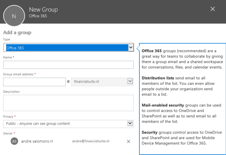 5 Ways To Create A SharePoint Site From The UI – André Salomons